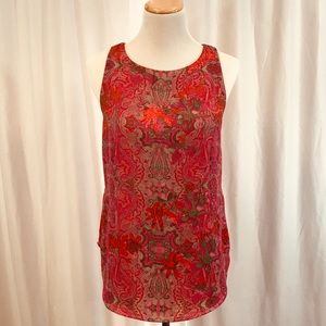 CAbi Sleeveless Blouse, Size Small
